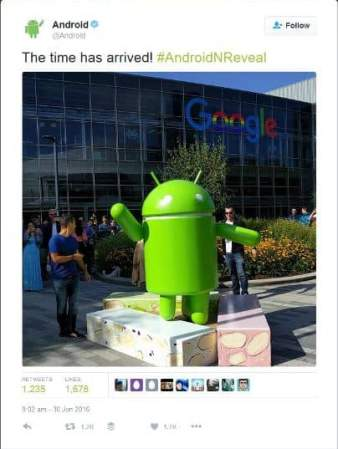 Android Nougat revealed