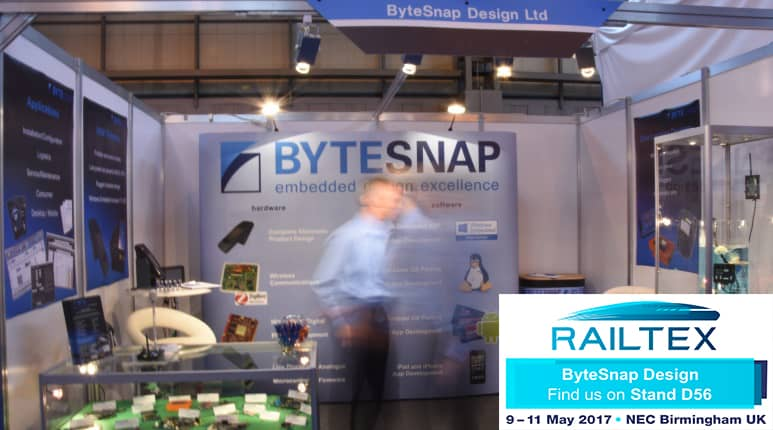 SEE US AT RAILTEX 2017