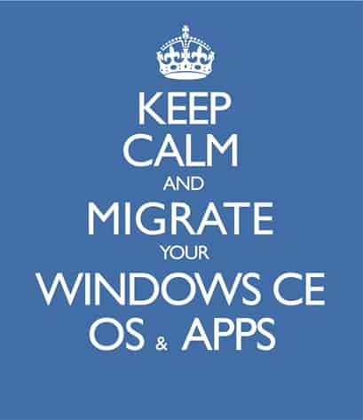 Keep Calm Migrate from Windows Embedded