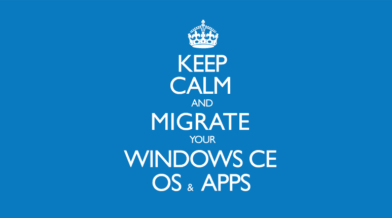 WINDOWS EMBEDDED COMPACT MIGRATION