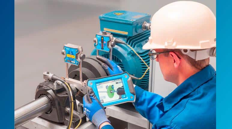 RUGGED SHAFT ALIGNMENT TABLET