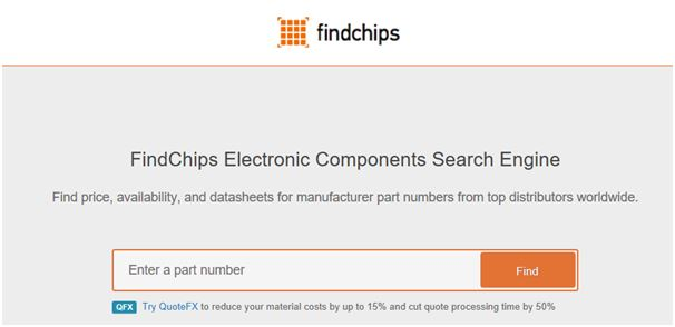Free electronics design tools_Findchips_2