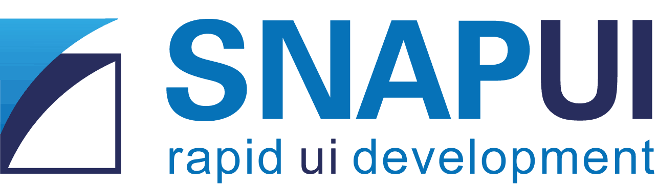 SnapUI - for rapid ui development in product design