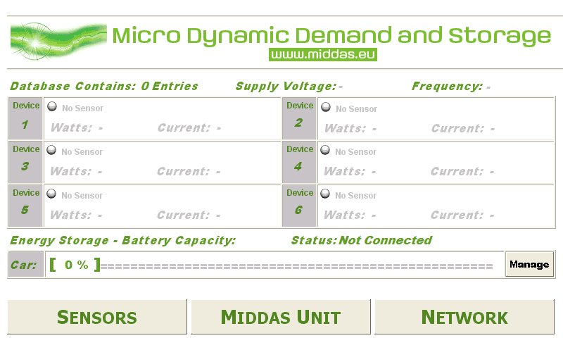 Vehicle to Grid - MiDDAS home page