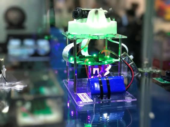 ByteSnap 360 camera architecture at Southern Manufacturing and Electronics 2018